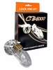 CB-6000 Clear Male Chastity Device