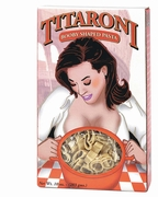 Titaroni booby shaped pasta