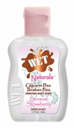 Wet Naturals Water based lubricant - Sensual Strawberry - 1.5 oZ