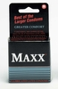 Maxx Larger Condoms- 3 Pack