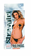 Showgirl - Black Sequined Panty & Pasties