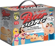 X-Rated Beer Pong The Inflatable Drink and Dare game