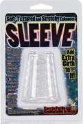 Soft-Textured and Stretchy Enhancer Sleeve - Clear