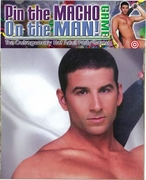 Pin the Macho on the Man - Party Game