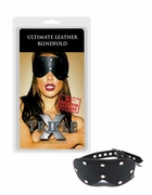 Ultimate Leather Blindfold