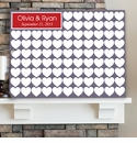 Signature Canvas Print Guest Book