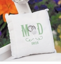 Personalized Ring Pillows