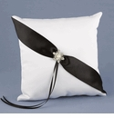 Black & White Ring Pillows
