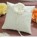 Ivory Ring Pillows