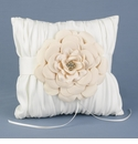Calla Lily & Floral-Inspired Ring Pillows