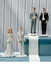 Mix and Match Bride and Groom Figurines