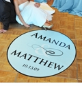 Personalized Wedding Dance Floor Decals