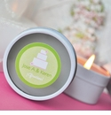 Travel Candle Tin Favors