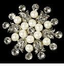 Pearl Accented Brooches