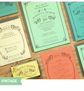 Vintage Rustic Plantable Paper Wedding Collection