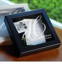 Wedding Wishes Keepsake Shadow Box - Black or White