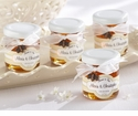 """Meant to Bee"" Personalized Clover Honey Jar Favors (Set of 12)"