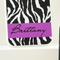 Zebra Print Personalized iPhone Cases (4 Colors)
