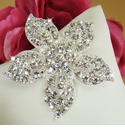 Crystal Bridal Brooch