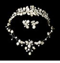 Matching Bridal Tiaras & Jewelry Sets