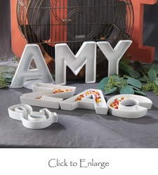 Love Letter Ceramic Dishes Set