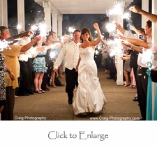 Wedding Sparklers # 10 length - Set of 100