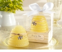 """Meant to Bee"" Honey-Scented Beehive Candle Favors (Set of 4) - Out of Stock"