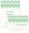 Chevron Plantable Wedding Collection