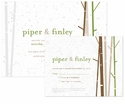 Birch Plantable Wedding Collection