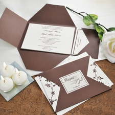 A Printable Wedding Invitation Kit Saves Big on Your Big Day