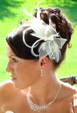 A Feather Fascinator For a Twist on Retro Style