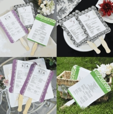 Wedding Fans: Easy Breezy, Fun Favors