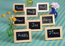 How to Incorporate Chalkboard Wedding Favors into Your Wedding