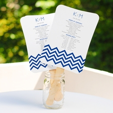 Cool Ideas for Comfort: Wedding Fans Programs