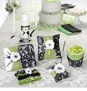 Green & Black Lace Wedding Collection