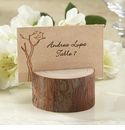 Rustic Wood Place Card / Photo Holder Favors (Set of 4) - Available 10/17/2013