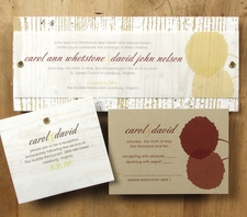 Bloomin Plantable Recycled Wedding Invitations