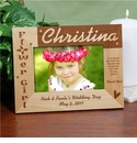 Flower Girl Picture Frames