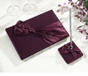 Plum Satin Wedding Collection