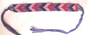 Woven Multi Color Beaded Bracelets Style 16