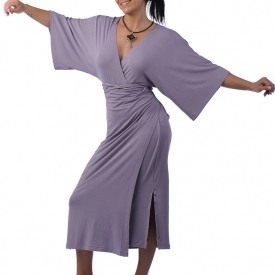 The most comfy bamboo robe dress