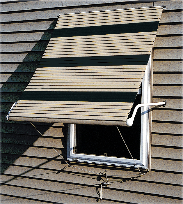 aluminum roll up window awnings
