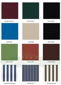 Replacement Awning Fabric - D.I.Y. Vinyl Awnings