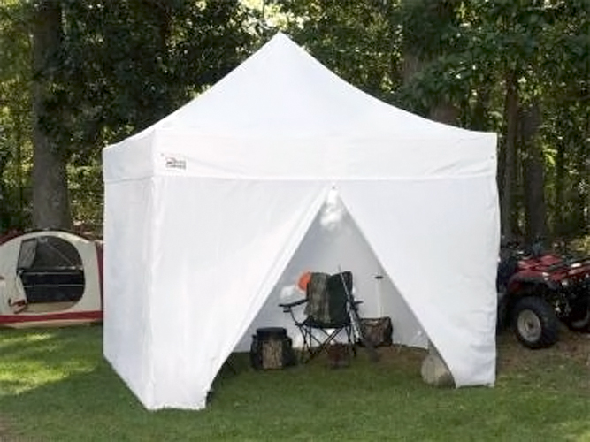 & King Canopy Tuff Tent - Portable Instant Canopy With Side Wall Option