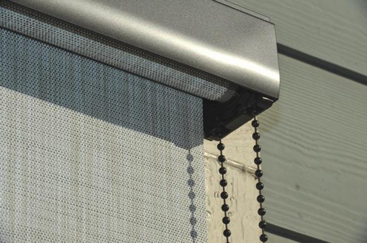 Indoor or Outdoor Window Shades Available in Standard or Custom