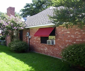 Sunbrella Fabric Awnings - Without Side Wings