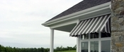 Sunbrella Fabric Window Awnings - 3 Feet to 8 Feet Wide
