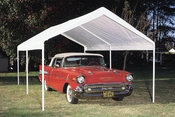 "King Canopy Hercules Canopy - 2"" Steel Frame Canopy Available in Four Sizes"