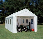King Canopy Hercules Canopy - Three Types of Enclosed 10' x 20' Canopy