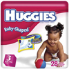 HUGGIES ULTRATRIM<BR> BABY DIAPERS<BR>(16-28)LBS. 124/CASE , KIM 11958